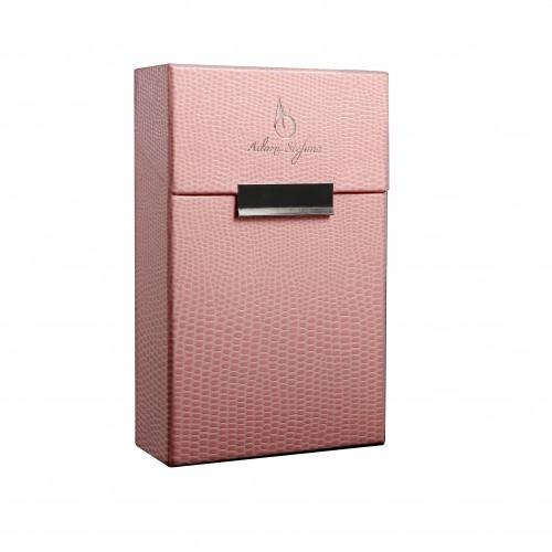 Lizard Pink - stylebox by Adami Stefano Zigarettenbox Zigarettenetui der Extraklasse