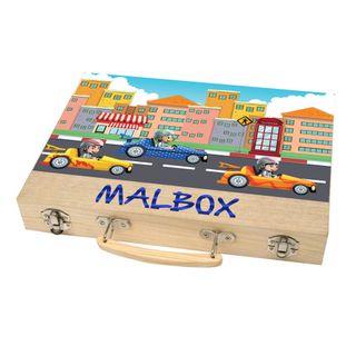Malkoffer 'PAINT BOX 66' mit 11 Utensilien - 66-teiliges Malset für Schule und Co.: Der kompakte Malkasten im praktischen Holzkoffer!  – Bild 7