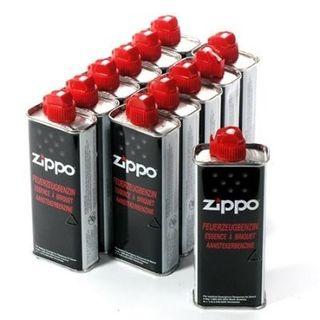 12 Pullen ORIGINAL ZIPPO Feuerzeug-Benzin zu je 125 ml – Bild 1