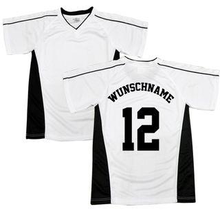 FAN Sport T-Shirt mit persönlichem Namen und Nummer auf Rücken gedruckt. – Bild 1
