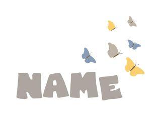 Motiv-Babystrampler individuell mit Wunschnamen bedruckt - 100% Bio-Baumwolle – Bild 3