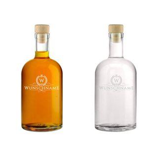 Edle Whisky Karaffe / Whisky Flasche -Claus- inkl. persönlicher Gravur - wahlweise mit bis zu 6 Gläser - Motiv 01 – Bild 10