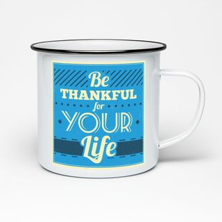 Edelstahltasse im Emaille Look Tasse - Kaffee Becher - Tasse weiß im Vintage Look Design robust – 300 ml – für Retro-Küche, Picknick, Outdoor, Camping – Becher emailliert – Bild 25