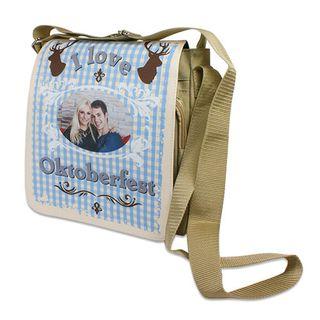 creativgravur® Schultertasche mit wechselbarer Frontlasche nach Wunsch bedruckt – Bild 1