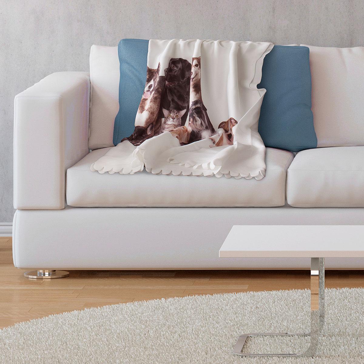 geschenkedirekt fleecedecke vliesdecke mit verschiedenen motiven f r kinder oder selbst. Black Bedroom Furniture Sets. Home Design Ideas