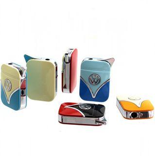 Original Volkswagen Feuerzeug im Frontschild Design - in verschiedenen Farben - Geschenkset – Bild 1