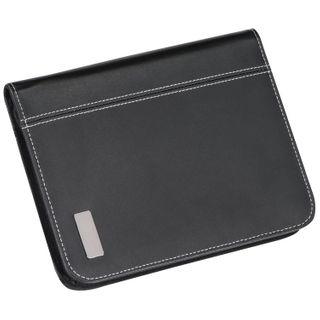CrisMa Bonded Leather Schreibmappe A5 mit Ringbucheinsatz – Bild 2