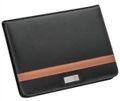 creativgravur® Schreibmappe A4 mit Reißverschluß/Bonded Leder u. Kugelschreiber  001