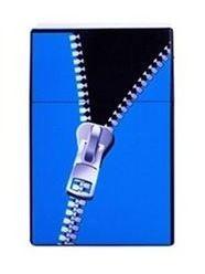 1 Stk. Zigarettenbox Kunststoff - Zipper – Bild 1