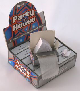 PARTY IN HOUSE ROLLS Rolling Papers inkl. Filtertips