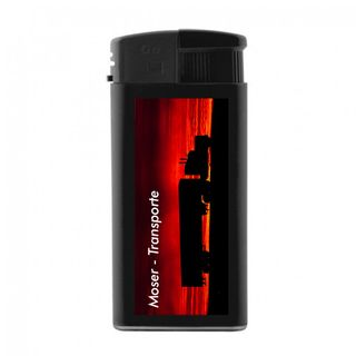 Elektronik-Feuerzeug XL mit großer Druckfläche für  Ihre Werbung / Logo / ab 50 Stück einseitg- oder beidseitiger Druck 4-Farbdruck – Bild 3