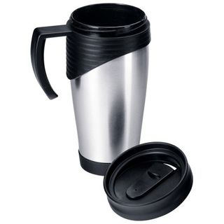 Doppelwandiger Thermobecher, Kaffeebecher, Isolierbecher Thermotasse Coffe to go