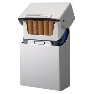 Zigarettenbox Zigarettenetui Alu Edel mit Magnetverschluß – Bild 2