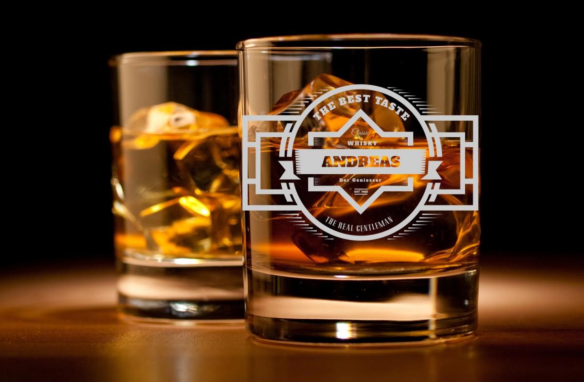 Whiskyglas Mit Gravur Personalisiert Namen Und Jahreszahl Verschiedene Motive Zur Auswahl