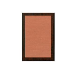 Holztafel Urkunde rot gemasert - 152 x 203 mm - verschiedene Hintergrundfarben - mit individuellem Fotodruck – Bild 4