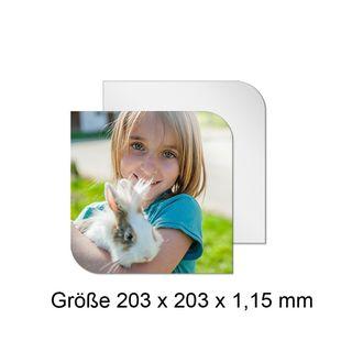 ChromaLuxe Alu-Fototafel - Creative Borders - verschiedene Größen - mit individuellem Fotodruck – Bild 1
