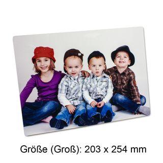 """ChromaLuxe Einzel-Fotopaneel """"QUER"""" - verschiedene Größen - mit individuellem Fotodruck – Bild 2"""