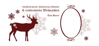 Creativgravur® Weihnachtstasse Kaffeetasse Kaffeebecher Glühweinbecher Punschtasse mit Fotodruck und Wunschmotiv - Spülmaschinenfest - 23 Motive zur Auswahl – Bild 24