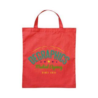 250 Premium Baumwolltasche Umhängetasche Stoffbeutel  Beutel Shopper mit kurzen Henkel bedruckt mit Ihrem Wunschmotiv oder Logo im vierfarb Druck - viele Farben zur Auswahl – Bild 13