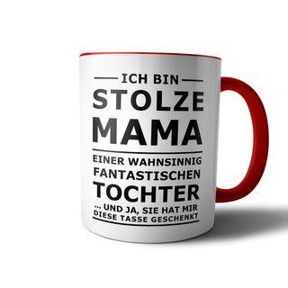 creativgravur® Tasse mit Spruch STOLZER PAPA, STOLZE MAMA Kaffeetasse Kaffeebecher Kaffeepot Frühstückstasse Bürotasse – Bild 10
