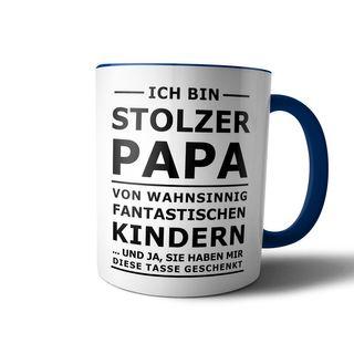 creativgravur® Tasse mit Spruch STOLZER PAPA, STOLZE MAMA Kaffeetasse Kaffeebecher Kaffeepot Frühstückstasse Bürotasse – Bild 9
