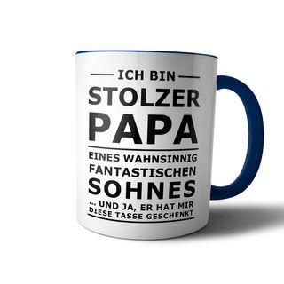 creativgravur® Tasse mit Spruch STOLZER PAPA, STOLZE MAMA Kaffeetasse Kaffeebecher Kaffeepot Frühstückstasse Bürotasse – Bild 8