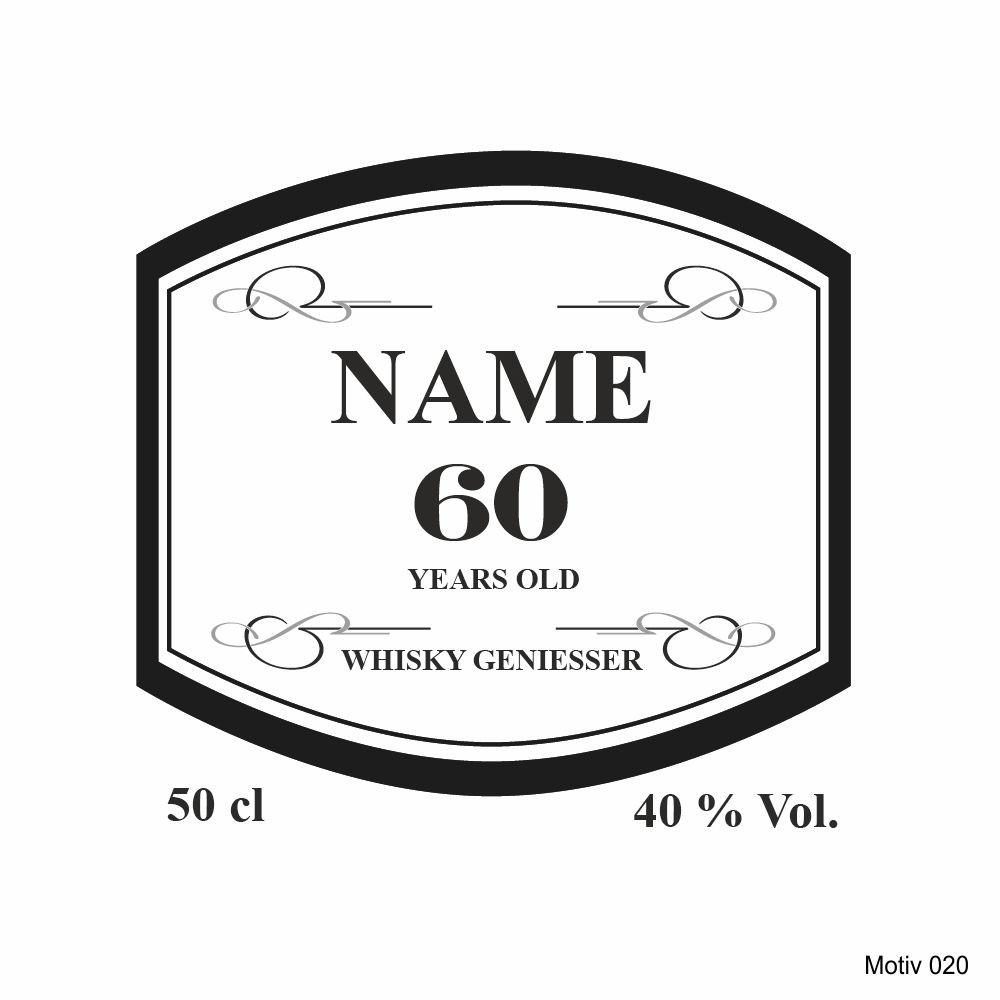 whiskyglas mit gravur personalisiert mit namen und jahreszahl motiv 020. Black Bedroom Furniture Sets. Home Design Ideas