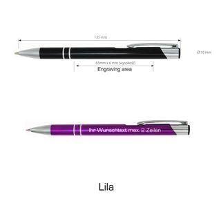 Metall - Kugelschreiber COSMO - inkl. Lasergravur - 26 Farben zur Auswahl + Geschenkbox – Bild 10
