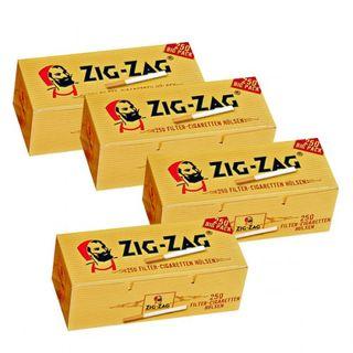 1.000 Zig Zag Filterhülsen