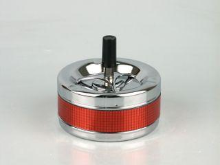 Drehascher im Spiegel-Design rot ca. 11cm