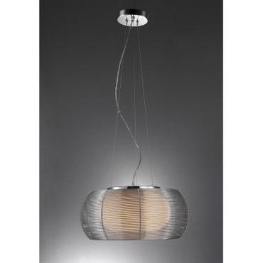 LED Pendelleuchte Design Johanna - Ø 40cm - silber – Bild 2