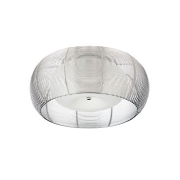Design LED Lampe Silber Amin - Ø 40cm