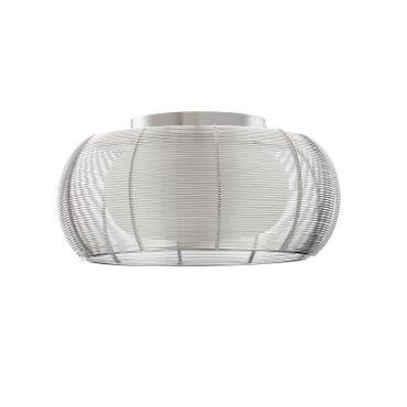 LED Deckenleuchte Design Amin - Ø 40cm - silber – Bild 3