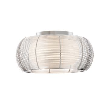 LED Deckenleuchte Design Amin - Ø 40cm - silber – Bild 4