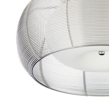 Design Lampe Silber Amin - Ø 40cm – Bild 5