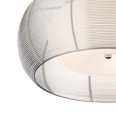 LED Deckenleuchte Design Amin - Ø 40cm - silber – Bild 6