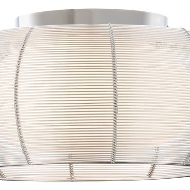 LED Deckenleuchte Design Amin - Ø 40cm - silber – Bild 8