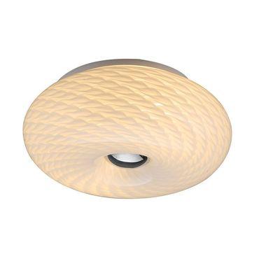 LED Deckenleuchte Wandleuchte Theos - Ø 28cm - chrom – Bild 1