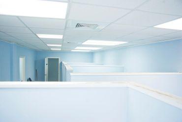 LED Deckenleuchte 40 Watt quadratisch 60x60cm weiß - warmweiß – Bild 7