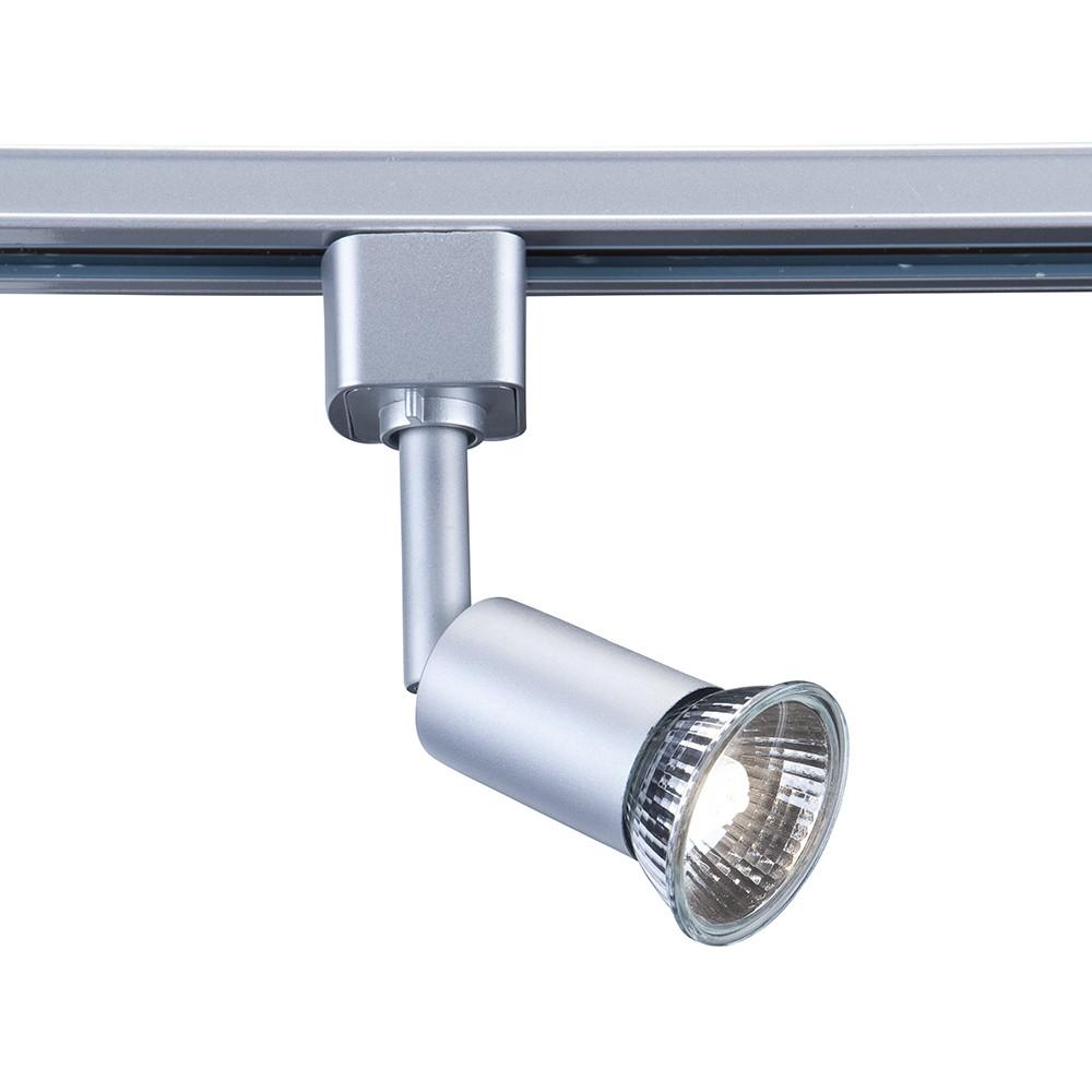 spot f r schienensystem cylinder silber. Black Bedroom Furniture Sets. Home Design Ideas
