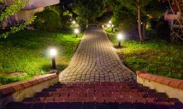 LED Außenwandleuchte 2flammig schwarz – Bild 8