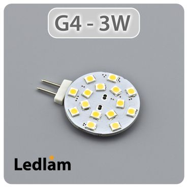 G4 LED Stiftsockel rund 3 Watt