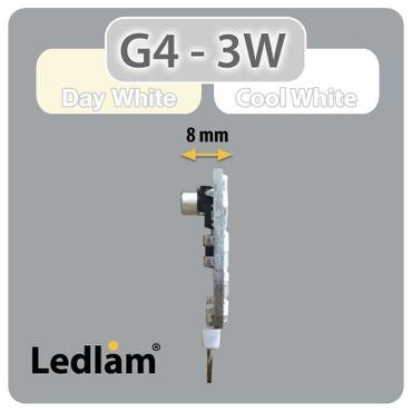 G4 LED Stiftsockel rund 3 Watt – Bild 4