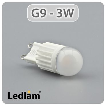 G9 LED Stiftsockel 3 Watt  – Bild 1