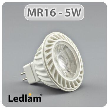 LED GU5.3 Reflektor 5 Watt COB LED  – Bild 1