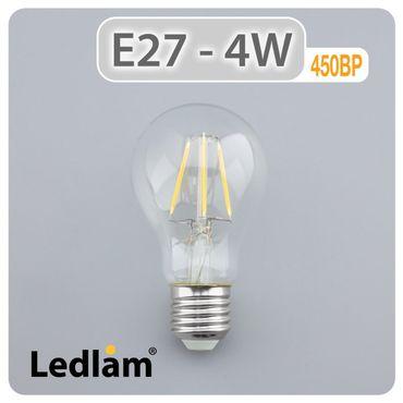 E27 LED Filament 4 Watt – Bild 2