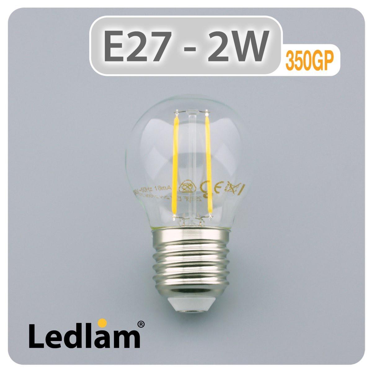 e27 led tropfen filament 2 watt. Black Bedroom Furniture Sets. Home Design Ideas