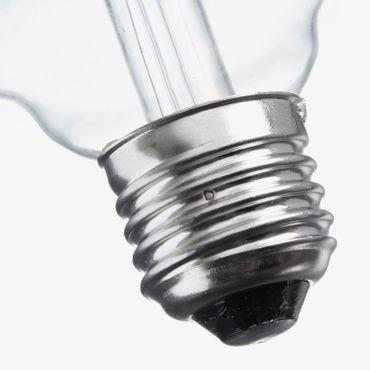 E27 LED Globus Filament klar 4 Watt  – Bild 7