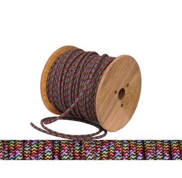 Textilkabel, Lampen Kabel Strom, Stoffkabel, 2-adrig, 2x 0,75mm², multicolor  – Bild 1