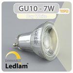 GU10 LED Spot 7W SMD 700SPGD - neutral weiß  - dimmbar